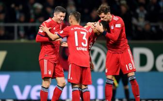 德甲-格納布里2球大迫勇也頭槌 拜仁2-1止3輪不勝