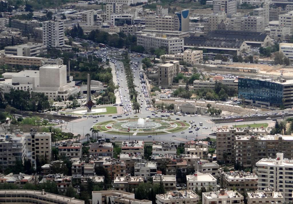 战前的大马士革
