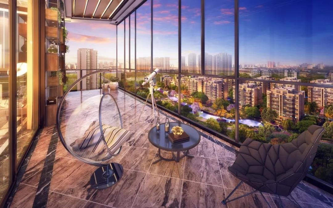 6.9m阔景阳台 丨 宽境板房 自带光环