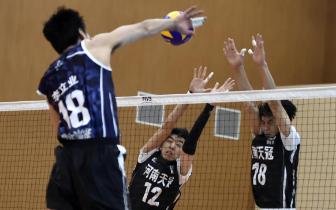 中国男排超联18/19赛季第二阶段第六轮第39场