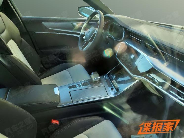 配四驱/动力或提升 奥迪全新A6L e-tron曝光