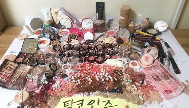 双语阅读:韩国女子现在连化妆品都不想用了!