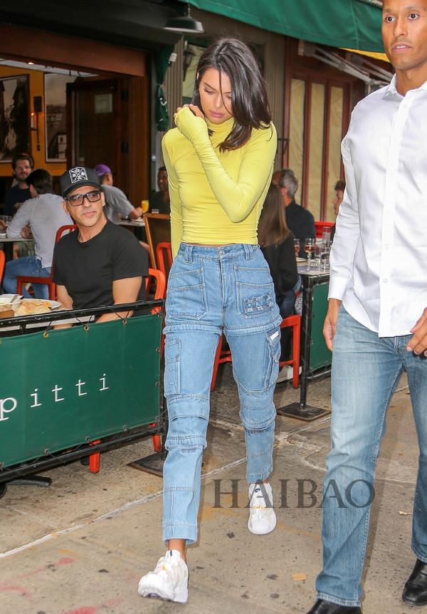 2018年09月08日肯达尔·詹娜 (Kendall Jenner)纽约外出