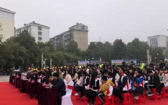 潜江交警开展第七个122全国交通安全日宣传活动