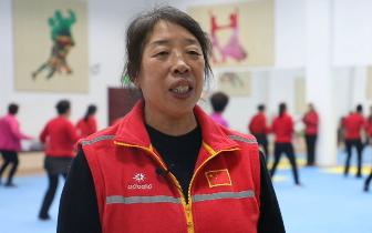 走近社会体育指导员站长容俊芝