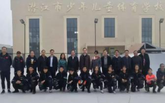 湖北省体育局局长胡功民一行调研潜江市体育工作