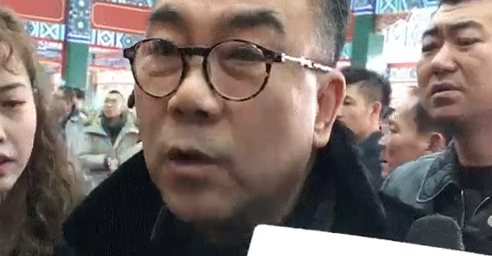 杨议现身常贵田追悼会 回应父亲就医:已无大碍