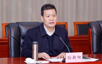 孙新阳:坚决整治形式主义和官僚主义