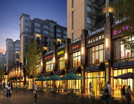 吉泰·紫樾台商业街