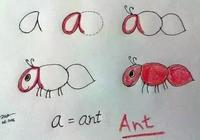 字母变身简笔画 陪孩子趣味学英语