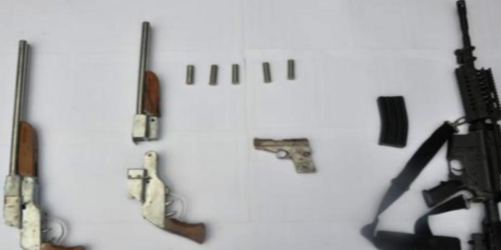 鹿泉警方破获部督特大网络贩卖枪支案