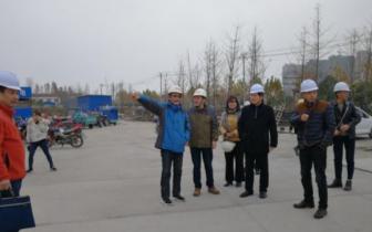 潜江市卫计委主任黄其虎调研重点民生项目