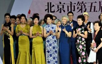 把大同的历史秀上T台 精彩人生模特队北京捧金奖