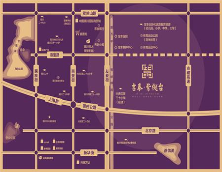 吉泰·紫樾台区位图