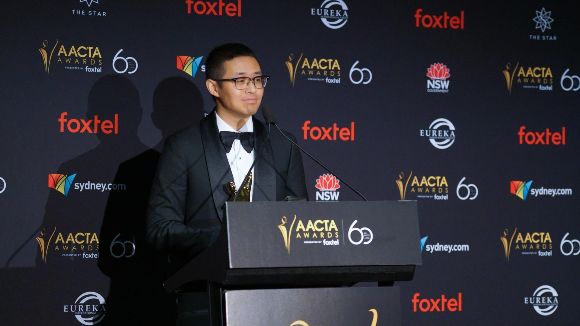 文牧野出席澳大利亚电影和电视艺术学院奖