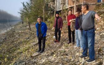 潜江市运粮湖管理区整改总干渠沿线环境