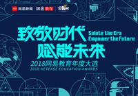 网易教育金翼奖:2018年度奋进之笔策划力之星