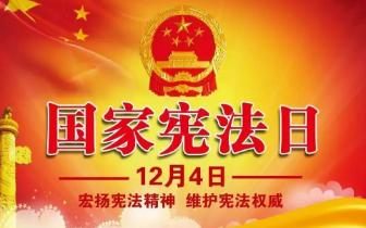 """潜江人民法院开展""""12.4""""国家宪法日法治宣传活动"""