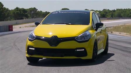 雷诺Clio RS赛道体验