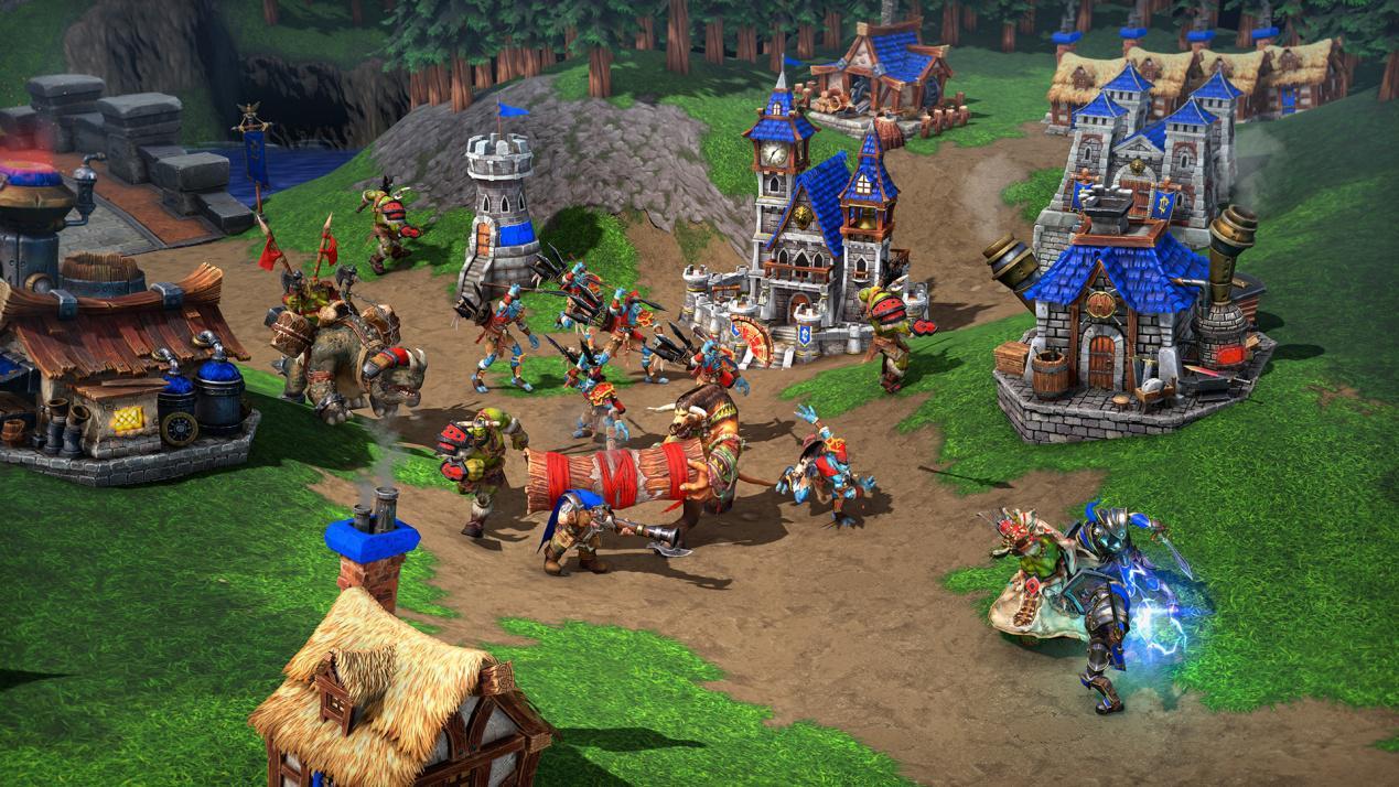 《魔兽争霸III:重制版》高清RPG地图令人期待