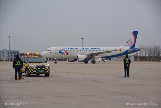 合肥开通直飞莫斯科定期客运航班