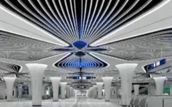 北京地铁新机场线全面铺轨 明年9月试运营