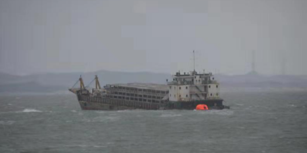 汕尾|突发!汕尾海域一艘施工船触礁 船舱进水严重