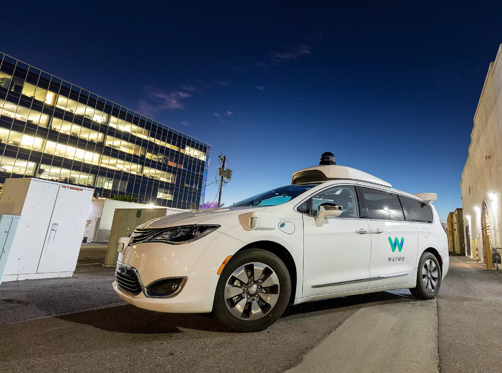 媒体体验自动出租车 Waymo.  One:稳如老司机