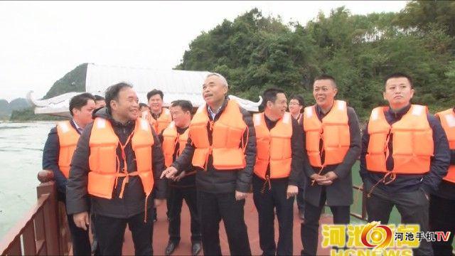 市长、市总河长、红水河市级河长唐云舒巡河检查