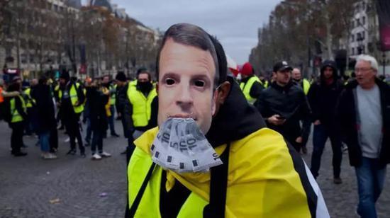 """法国""""黄马甲运动""""蔓延至比利时荷兰 欧洲怎么了?"""