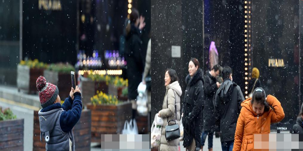 雪杀了个回马枪 南京又能堆雪人了