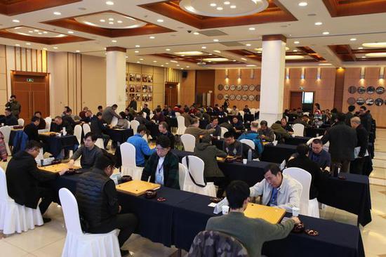 放下笔杆,变身棋手 全国新闻界围棋锦标赛在杭开幕