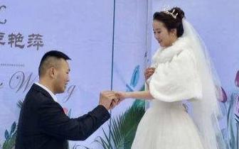 成家立业两不误 自贡退伍军人婚礼当天参加辅警笔试