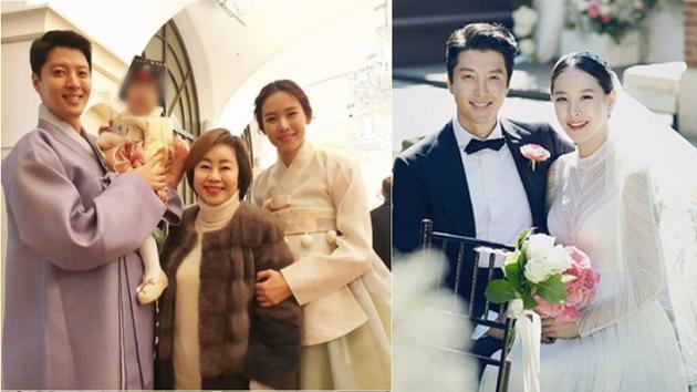 李东健为爱女办周岁宴 一家三口穿韩服出镜超温馨