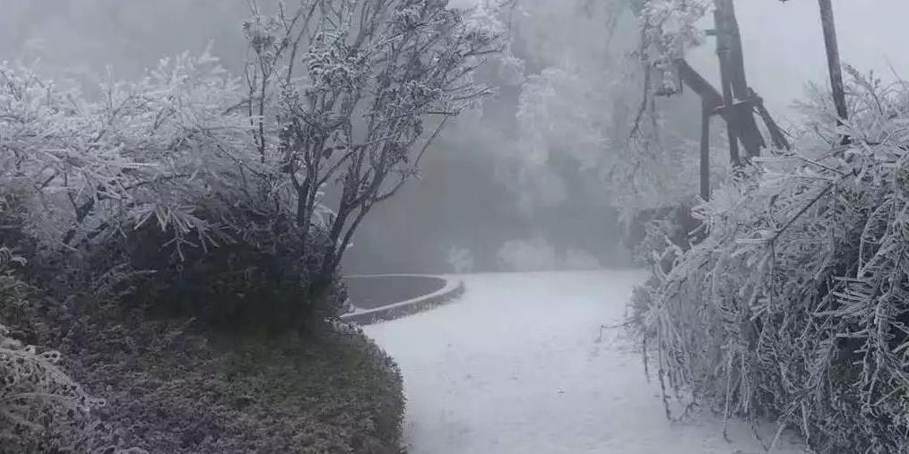 南昌昨天凌晨偷偷下起雪 多部门紧急预警