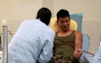 暖心!攀枝花老人突发消化道大出血 消防员紧急献血救人