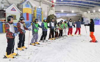 石家庄市基层骨干滑雪项目培训班圆满结束