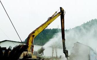 禁违动态 西陵区拆除11000平方米违建