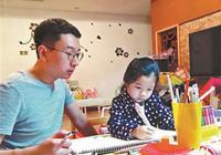 """创意无限:福州奶爸""""爆改""""孩子涂鸦办画展"""