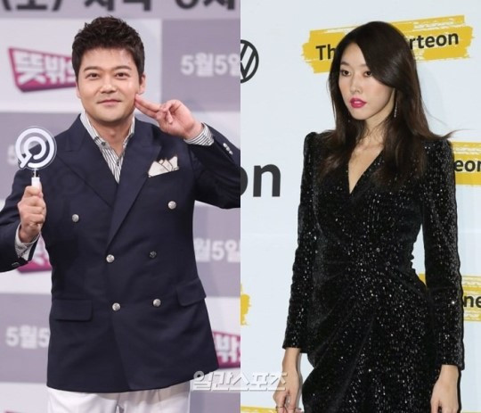 韩名嘴全炫茂与模特韩惠珍分手 节目中互动很尴尬