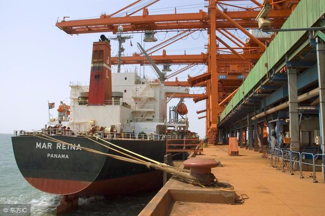 曹妃甸港区货物吞吐量超3亿吨 同比增长11%