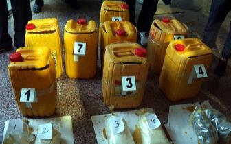 江西警方破获特大跨国走私贩毒案 缴获毒品24公斤