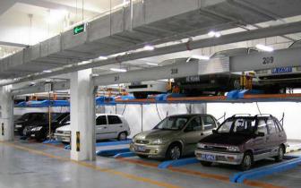 中车大同公司研发出立体车库 一个车位能停10辆车