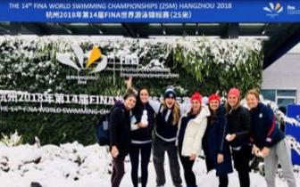 昨天好多外国明星在晒杭州雪景照!感觉萌萌哒