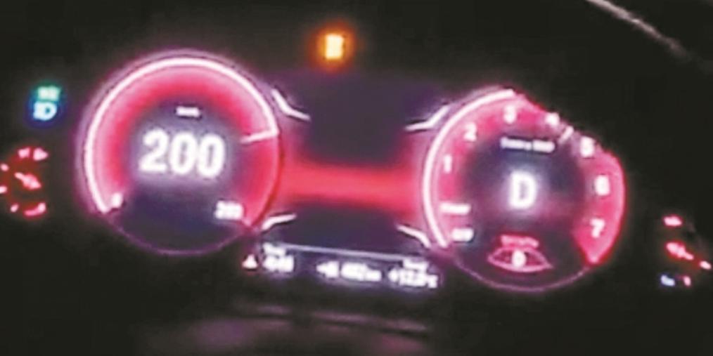 深圳宝马男200码飙车视频流出 4小时后凉了