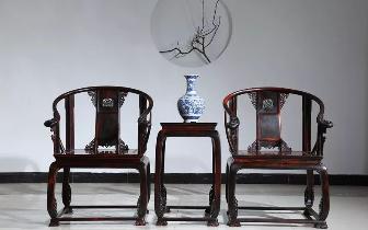镇宅之宝的红木家具就要上档次。