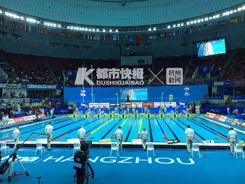 世游赛(25米)首场男子400米自由泳预赛 中国选手无缘决赛