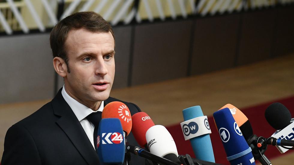 马克龙:法国进入经济紧急状态 明年起提高最低工资
