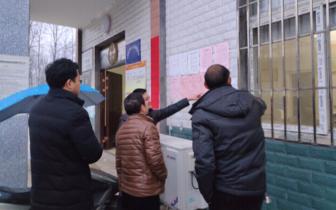 """孝感督办组到天鹅镇督办村社区""""两委""""换届工作"""