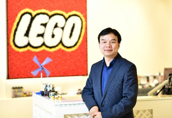 乐高教育中国区负责人余菁维先生